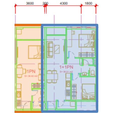 căn hộ 1 phòng ngủ chung cư sophia center phú cường